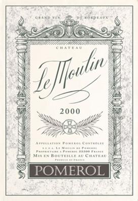 Torchons & Bouchons Tea Towel Chateau Le Moulin