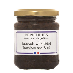 L'Epicurien Tapenade Dried Tomatoes & Basil