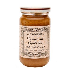 La Favorita Onion Cream with Balsamic Vinegar