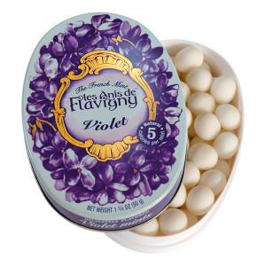 Les Anis de Flavigny All Natural Violet Mints