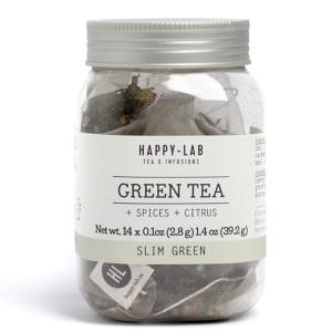 Happy-Lab Slim Green Tea Sachets