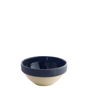 Manufacture de Digoin Serving Bowl Navy Blue