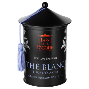 Thes de la Pagode Orange Blossom White Organic Loose Leaf Tea
