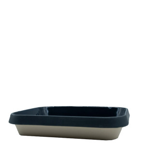Manufacture de Digoin Small 1.8L Baking Dish Navy Blue