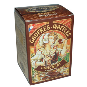 Biscuiterie Dunkerquoise Chocolate Pure Butter Waffles