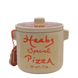 Aux anysetiers du Roy Herbs Special for Pizza in Ceramic Jar