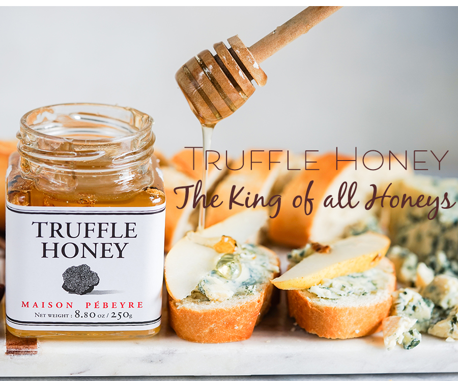 Pebeyre Truffle Honey the best honey from France