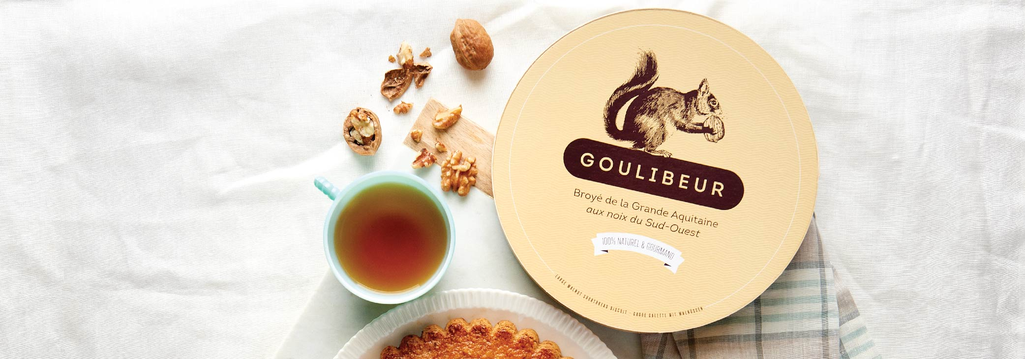 Goulibeur shortbread pure butter cookies from France