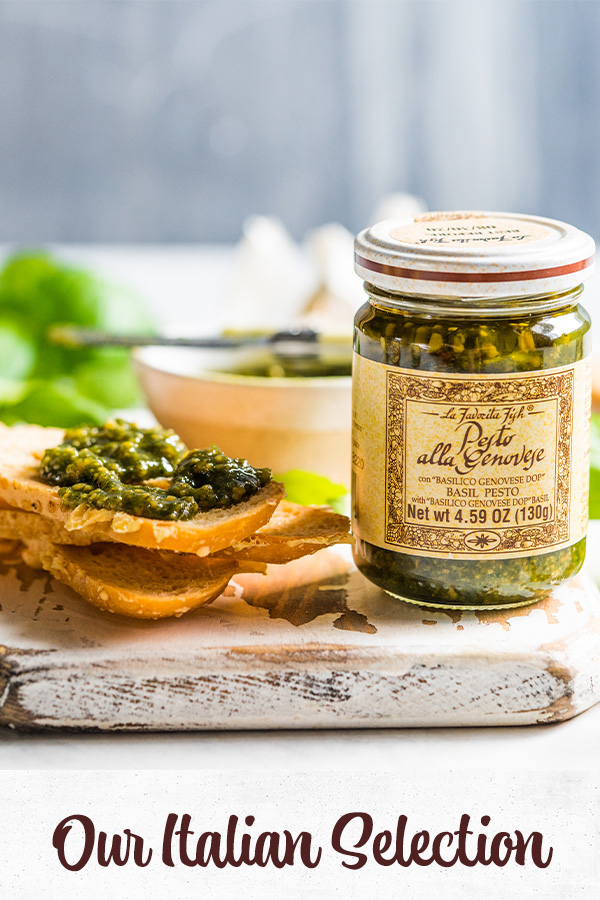 Italian pesto to feature our italian products