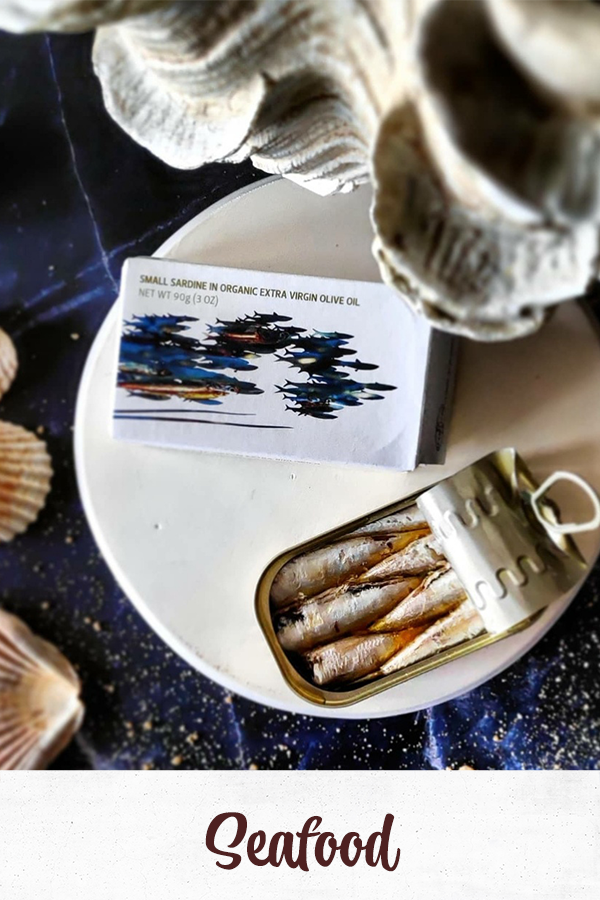 Sardine tin Maria organic