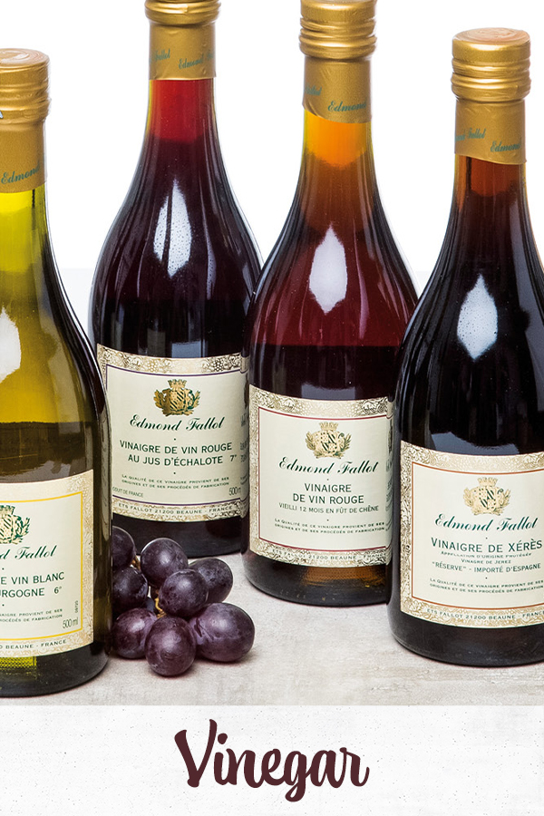 different types of French vinegar