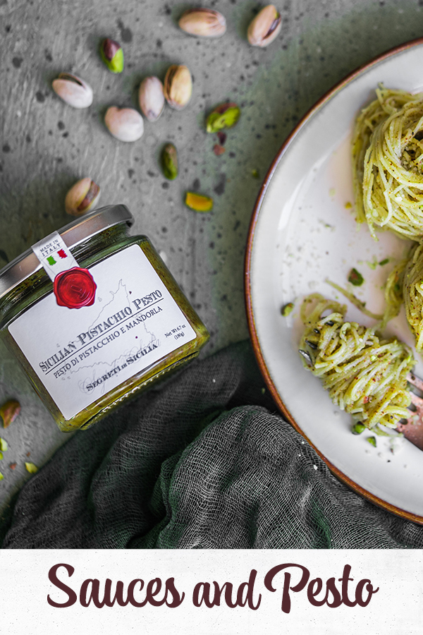 All our sauces and pesto from Frantoi Cutrera - Italian Brand - Food