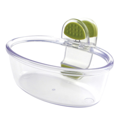 8oz./1 Cup capacity Sturdy clip securely attaches to most bowls and serveware Perfect for dips, salsa, salad fixings, ice cream toppings, and much more