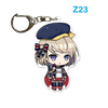 "Azur Lane: Crosswave 2"" Acrylic Charms - Z-23"