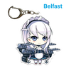 "Azur Lane: Crosswave 2"" Acrylic Charms - Belfast"