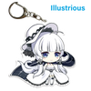 "Azur Lane: Crosswave 2"" Acrylic Charms - Illustrious"