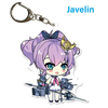 "Azur Lane: Crosswave 2"" Acrylic Charms - Javelin"
