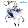 "Azur Lane: Crosswave 3"" Acrylic Charms - Belfast"