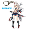 "Azur Lane: Crosswave 3"" Acrylic Charms - Ayanami"