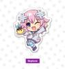 Chibi Nep Pin - Neptunia 10th Anniversary