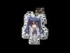 Neptunia Acrylic Charms: Noire