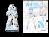 Goddess Acrylic Standee: White Heart