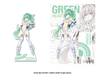Goddess Acrylic Standee: Green Heart