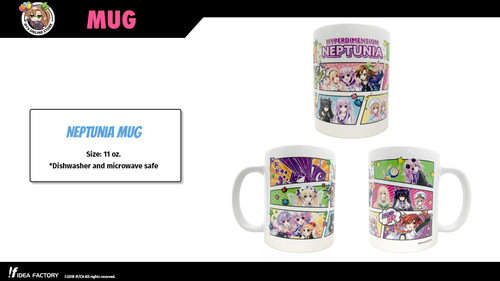 Neptunia Mug - Back in stock!