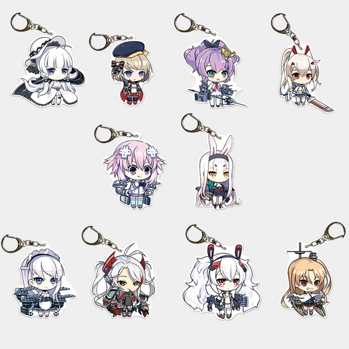 "Azur Lane: Crosswave 2"" Acrylic Charms"