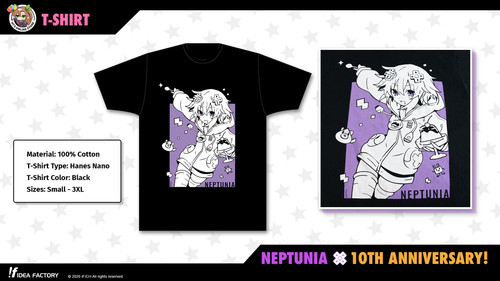 T-Shirt - Neptunia 10th Anniversary