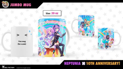 Neptunia 10th Anniversary Jumbo Mug (20oz)