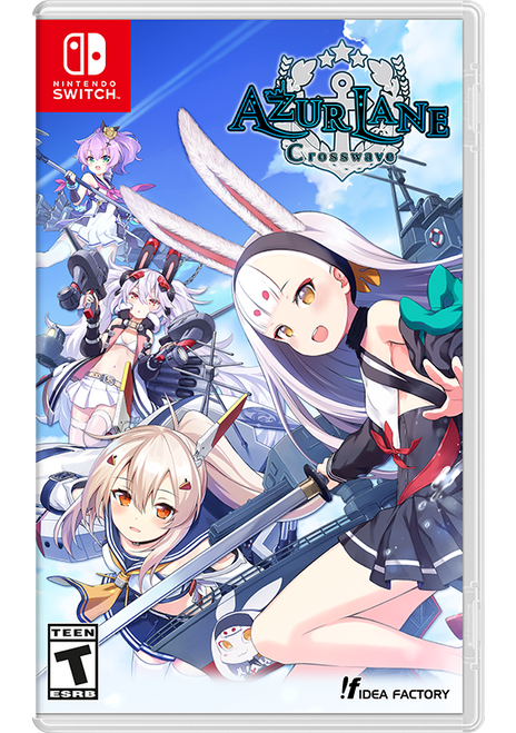Azur Lane: Crosswave Standard Edition (Nintendo Switch) - SOLD OUT!