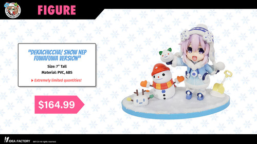 Dekachiccha! Snow Nep Fuwafuwa Version (Extremely Limited) - SOLD OUT!