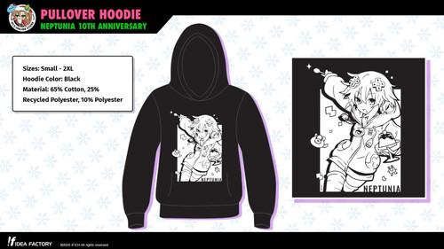 Pullover Hoodie - Neptunia 10th Anniversary