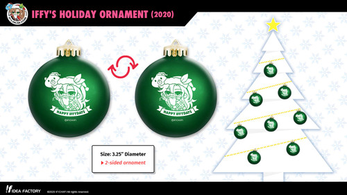 Iffy's Holiday Ornament (2020)