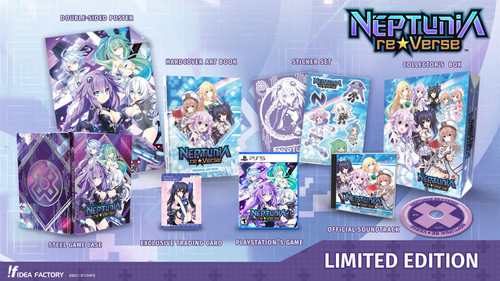 Neptunia ReVerse Limited Edition - Preorder now!