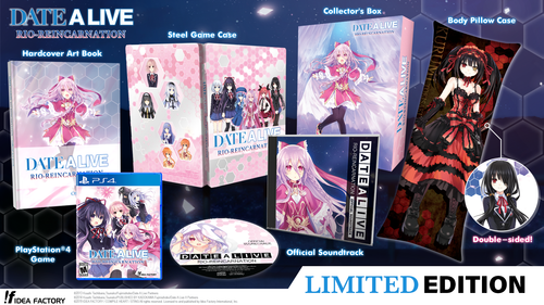 DATE A LIVE: Rio Reincarnation Limited Edition (PS4 version shown)