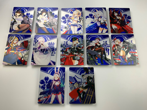 Azur Lane: Crosswave Metal Prints (series 1)