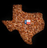 TEXAS PECAN CAKE with PIECES instead of halves