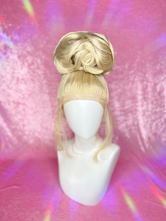 """Pre-loved by Esther Ready 2 Ship - """"Slicked Updo"""" - used once , freshly styled."""