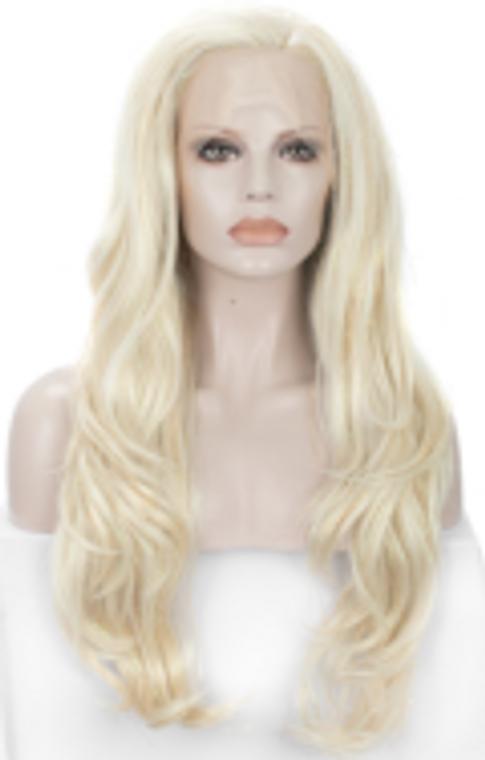 Custom Order Styled BlondeTinsel wig