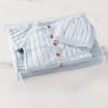 Cable Knit Bundle - Blue (no embroidery) Gift Basket (B14321)