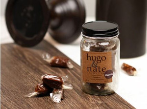 Hugo & Nate and a caramel lover's dream!