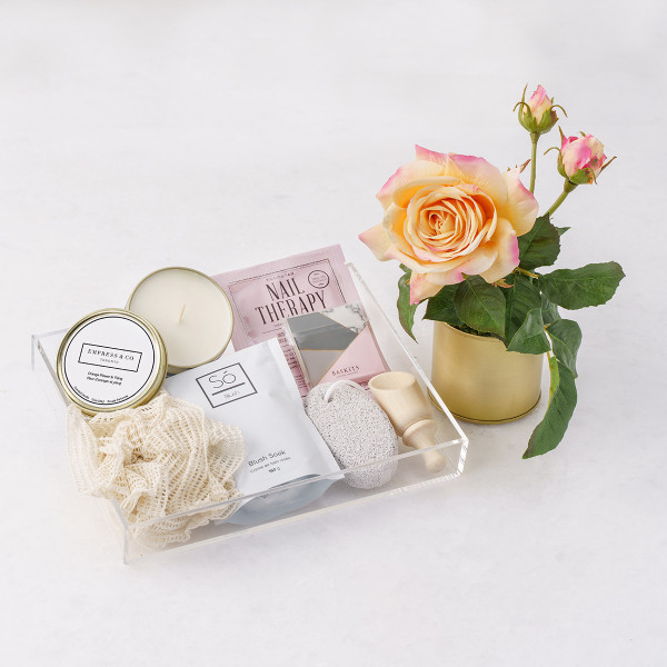 Rosa + Just Because Gift Basket (F10620)