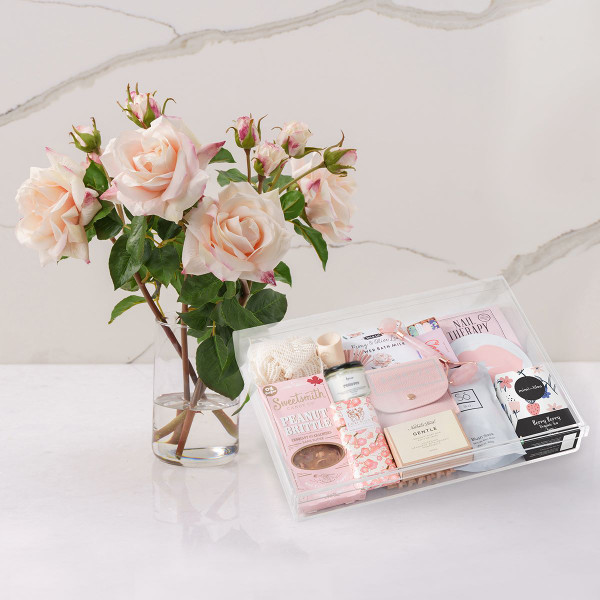 Diana + Luxe Serenity Gift Basket (F10920)