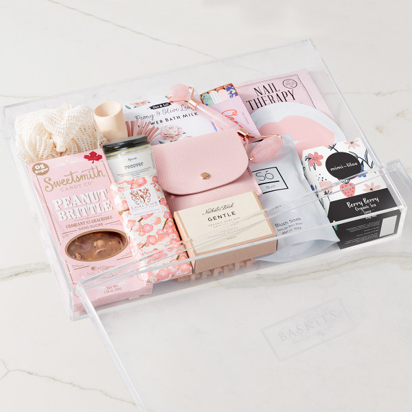 Luxe Serenity Gift Basket (F30720)