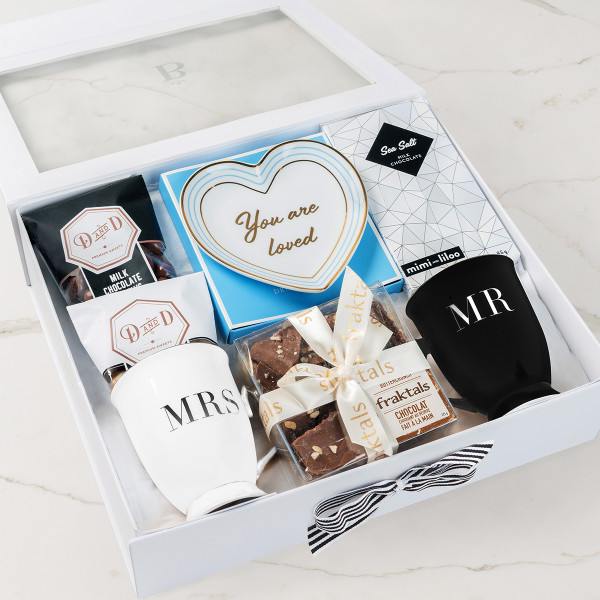 You Are Loved (Mr/Mrs) Gift Basket (R10621)