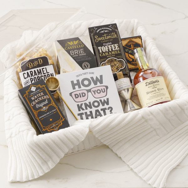 Perfect Night In Gift Basket (R10921)