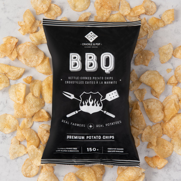 Crackle and Pop Buffalo BBQ Chips (150g) Gift Basket (BBC150G)