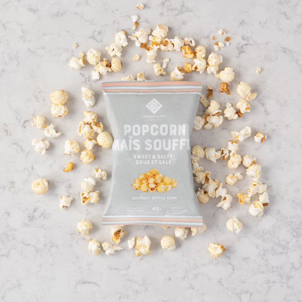 Crackle and Pop Sweet and Salty Popcorn (40g) Gift Basket (SWSC50G)